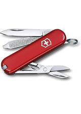 Victorinox Swiss Army Classic SD Pocket Knife Translucent Ruby Red NEW