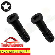 2x tornillo torx dos tornillos para iPhone 5 5G G 6 plus set two screws negros