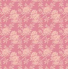 "Tilda Fabric NEW Harvest ""Flower Bush Pink"" 100% cotton fabric"