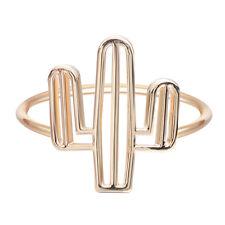 Fashion Women Jewelry Cacti Tree Ring Hollow Tree Geometric Finger Cactus Ring