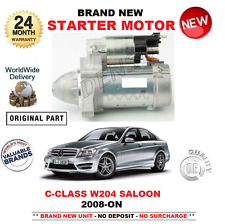 FOR MERCEDES BENZ C CLASS STARTER MOTOR 2008-ON C180 C200 C220 C250 CDi SALOON