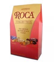 28oz Brow&Haley Roca Original,Buttercrunch,Toffee Dark Almond Cashew 63 Pc