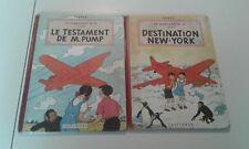 BD Hergé - EO - Les aventures de Jo, Zette et Jocko - Le stratonef H.22
