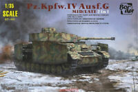 Border BT001 1/35 Model Panzer IV Ausf.G Mid/Late 2in1 #BT001 2019 New