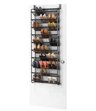 Whitmor 30-Pair Over the Door Shoe Rack Hanging Closet Organizer Storage Hanger