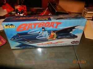 Batman Batboat Model Kit Polar Lights Factory Sealed Mint MIB Box 1:25 2003