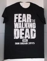 SDCC 2015 AMC Fear The Walking Dead Exclusive Medium Short Sleeve T-Shirt Horror