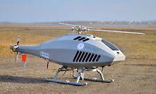 Apid 60 CybAero Sweden UAV Helicopter Desktop Wood Model Big New