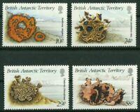 BAT British Antarctic Territtory 152 - 155 Motiv Flechten postfrisch MNH 1989