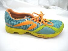 Newton Racer Distance 7.5M blue teal orange womens ladies running sneakers shoes