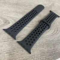 Genuine Apple Anthracite/Black Sport Band 42mm/44mm 3 strap