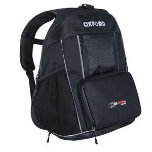 Oxford XB25S Motorcycle Motorbike Rucksack Luggage Backpack Helmet Carrier 25L