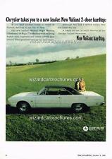 1969 VALIANT VF REGAL HARDTOP  A3 POSTER AD SALES BROCHURE ADVERTISEMENT ADVERT
