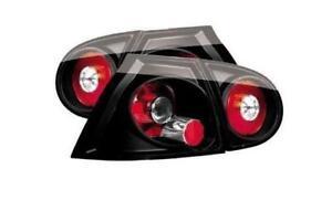 VW Golf Mk5 all models inc GTI R32 Black Rear Lexus Style Lights