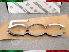 geschriebenes emblem Fiat 500 cinquecento Armaturenbrett original Logo sign