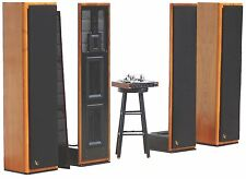 Infinity IRS BETA Floor Standing HiFi Speakers w/ Servo Controller WORKING!!