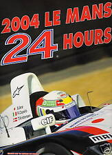 2004 OFFICAL BOOK  LE MANS 24 HOUR YEAR BOOK