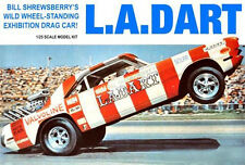 KIT L.A. DART DRAG CAR 1/25 MODEL KING AMT 21887