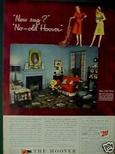 1944 Hoover Vacuum Sweeper Household Appliance AD