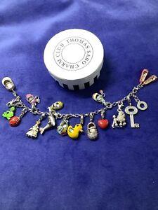 thomas sabo charm bracelet with 16 charms Genuine