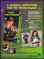 LEAPIN' LEPRECHAUNS!__Orig. 1995 Trade print AD __SYLVESTOR McCOY__Charles Band