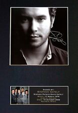 #89 STEPHEN GATELY Reproduction Signature/Autograph Mounted Signed Photograph A4