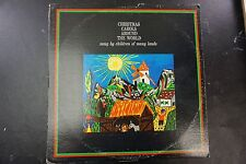 Christmas Carols Around The World sung by children of many lands NM LP