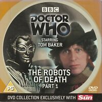 DOCTOR WHO THE ROBOTS OF DEATH PART ONE TOM BAKER DVD