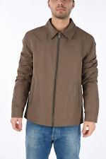 CORNELIANI men Jackets Size 50 it Brown OLLEY Windbreaker Jacket ID Brown