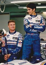 1995 Formula 1 Rothmans Williams Renault Coulthard Hill Portugal Gp Photo