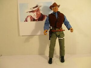 "Ben Cartwright Lorne Greene Bonanza tv series 12"" custom figure old West"