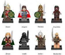 8 Pcs Lord of the Rings Mini Figures NEW UK Seller Fits Lego Hobbit