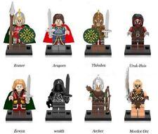 8 PZ Il Signore degli Anelli MINI FIGURES Nuovo Venditore Regno Unito si adatta LEGO HOBBIT
