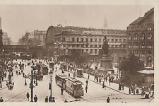 AK Alexanderplatz soffietto Fotograph flatauer ISTITUTO COMMERCIALE archivkarte
