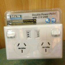 DOUBLE USB PORT POWER POINT $11.00 **REDUCED **