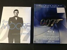 007 JAMES BOND VOL 1 - 007 THE ROGER MOORE COLLECTION ( BLU RAY) 7 MOVIES TOTAL