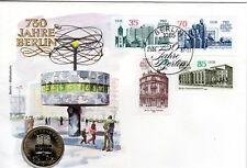 Numisbrief DDR: 750 Jahre Berlin vom 25.06.1987