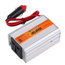 200W Car Auto Inverter Power Supply Adapter 12V DC to 220V AC Laptop Computer
