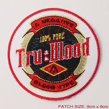 "TRUE BLOOW ""TRU BLOOD"" - Series Vampires Blood Substiture Logo Patch"