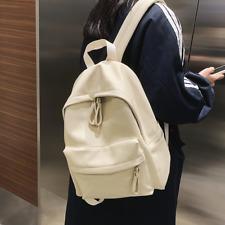 Backpack Leather Women's Teenage Girls School Shoulder Bag Bagpack Fashion
