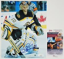 TUUKA RASK SIGNED 8X10 PHOTOGRAPH JSA CERT BOSTON BRUINS NHL STANLEY CUP