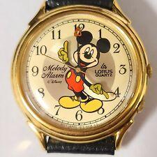 Lorus Mickey Mouse Melody Alarm watch vintage quartz Y975-6A28