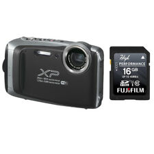 Fujifilm FinePix XP130 16.4MP Digital Camera Silver HD Wi-Fi Bluetooth +16GB SD