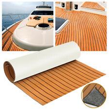 EVA Bodenbelag 890x2300x6mm Fußboden Teak Selbstklebend Matt für Yacht Boot