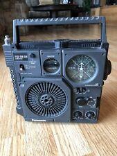 Vintage Panasonic RF-877 AM/FM/PSB 3 Band Portable Radio Rare TESTED