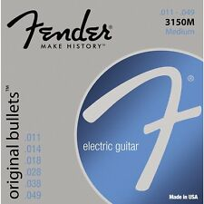 Fender 3150M Pure Nickel Original Bullets Electric Guitar Strings 11-49 gauge