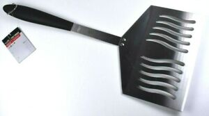 "CHAR-BROIL Fish Turner Extra Large Spatula - Stainless Steel - 8 1/2"" Wide New"