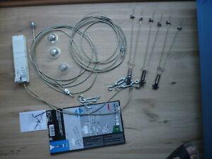 Halogen Seilsystem - Paulmann 3 x 20W - mit Trafo und Leuchtmittel