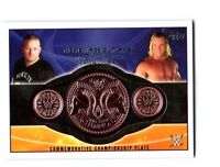 WWE New Age Outlaws 2015 Topps Tag Team Commemorative Belt Plate Relic Card