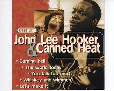 CD JOHN LEE HOOKER & CANNED HEATbest ofEX+ (A2032)